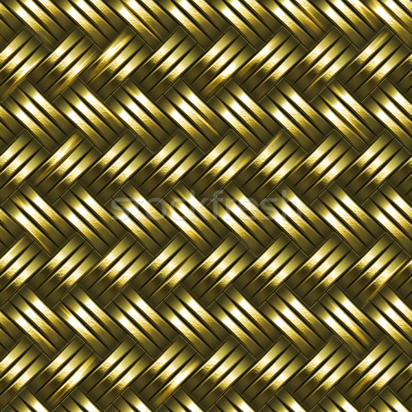 woven gold background Stock photo © clearviewstock
