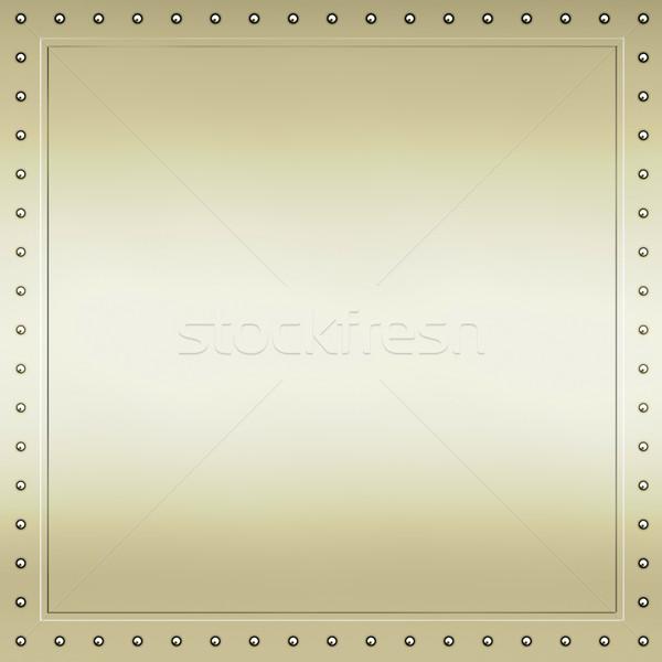 Oro textura de metal brillante imagen textura Foto stock © clearviewstock