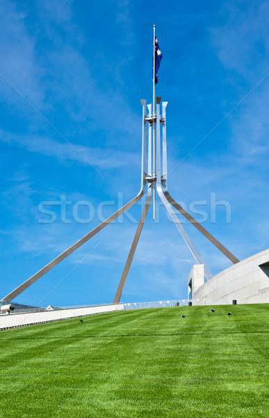 オーストラリア人 議会 家 キャンベラ 行為 丘 ストックフォト © clearviewstock
