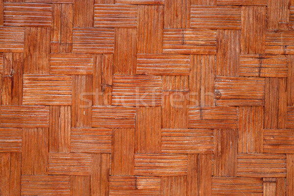 woven bamboo background Stock photo © clearviewstock