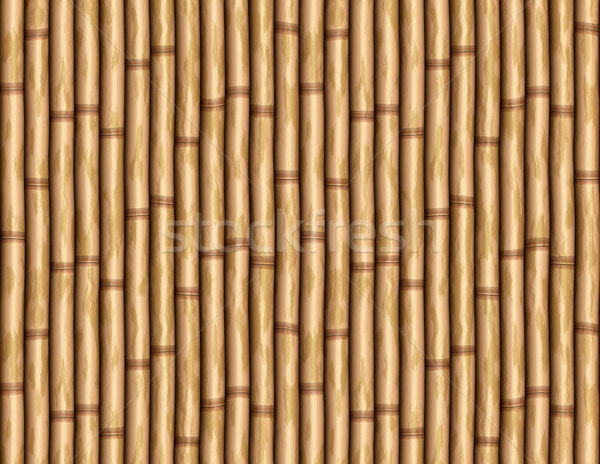 bamboo wall Stock photo © clearviewstock