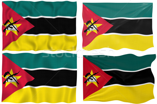 Flag of Mozambique Stock photo © clearviewstock