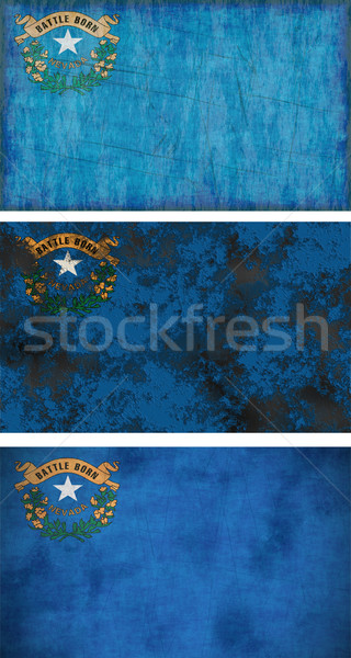 Flag of Nevada Stock photo © clearviewstock
