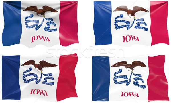 флаг Айова изображение Сток-фото © clearviewstock