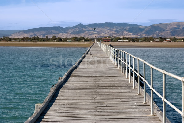 long jetty at port germein south australia Stock photo © clearviewstock