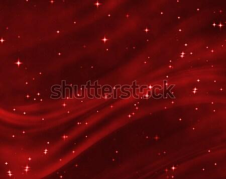 Сток-фото: Nice · синий · звездой · области · ярко