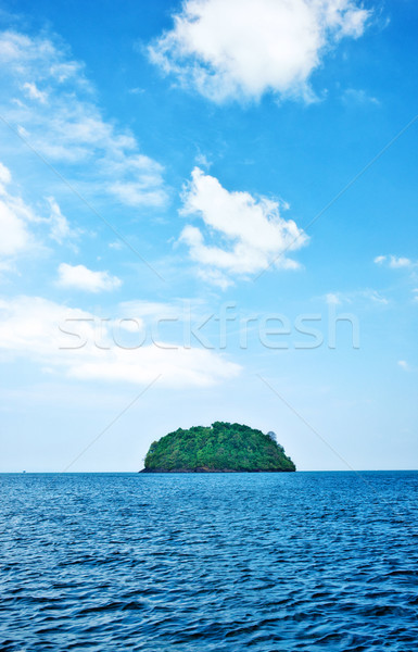 Stock photo: deserted tropical island