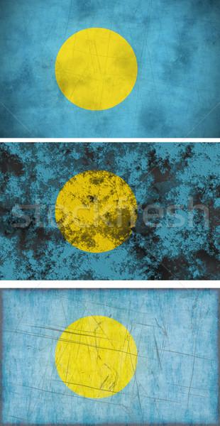 フラグ パラオ 画像 ストックフォト © clearviewstock
