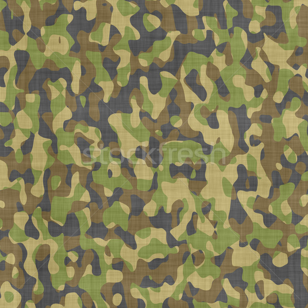 camouflage material Stock photo © clearviewstock