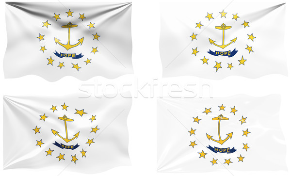 Flag of Rhode Island Stock photo © clearviewstock