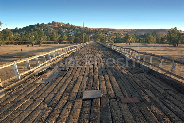 road to gundagai Stock photo © clearviewstock