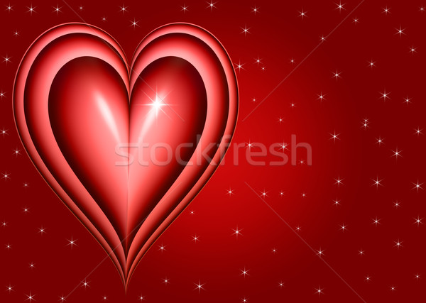 twinkling heart Stock photo © clearviewstock