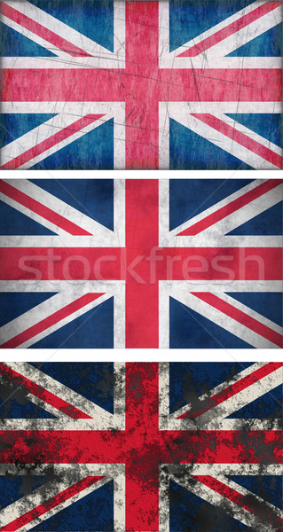 grunge Flags of the United Kingdom Stock photo © clearviewstock