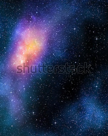 Profundo espacio exterior galaxia estrellas nebulosa Foto stock © clearviewstock
