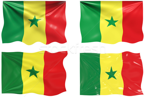 Flag of Senegal Stock photo © clearviewstock