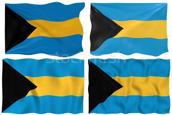 флаг Багамские острова изображение Сток-фото © clearviewstock