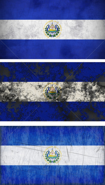 Flag of El Salvador Stock photo © clearviewstock