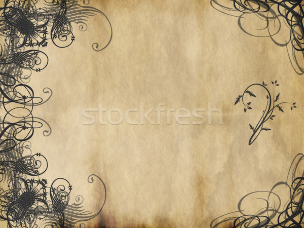 arabesque paper Stock photo © clearviewstock