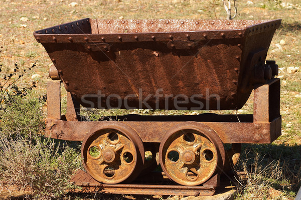 old mine cart Stock photo © clearviewstock