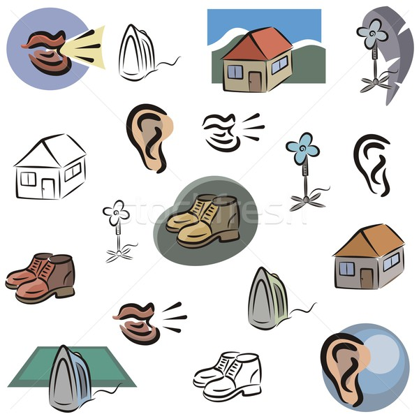 Vector Icon Series. Home Icons. Stock photo © clipart_design
