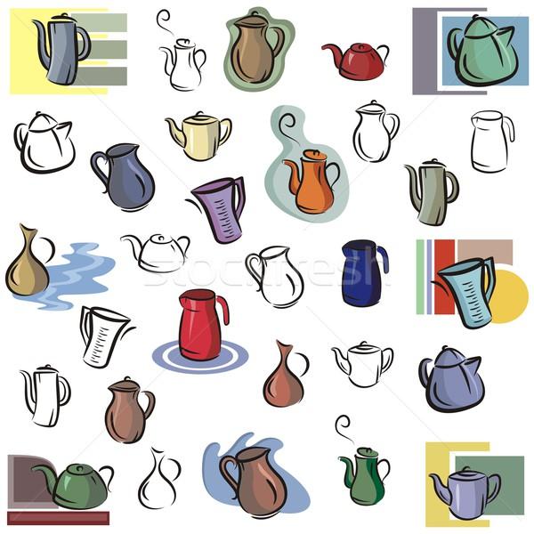 Vector Icon Series. Kitchen. Stock photo © clipart_design