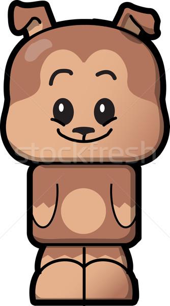 かわいい 犬 在庫 子犬 ペット ストックフォト © ClipArtMascots