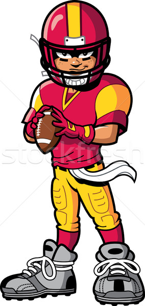 Football Player Stock photo © ClipArtMascots