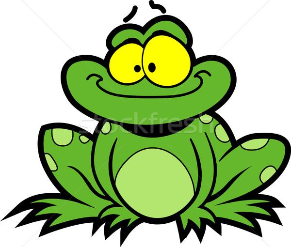 Cartoon Frog Stock photo © ClipArtMascots