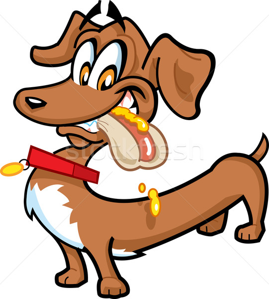 Dachshund Hot Dog Stock photo © ClipArtMascots