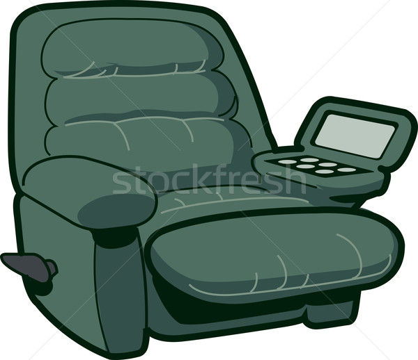 Reclining Chair Stock photo © ClipArtMascots