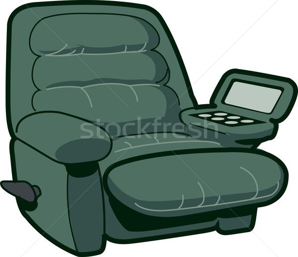 Sandalye örnek parti içmek dinlenmek mobilya Stok fotoğraf © ClipArtMascots