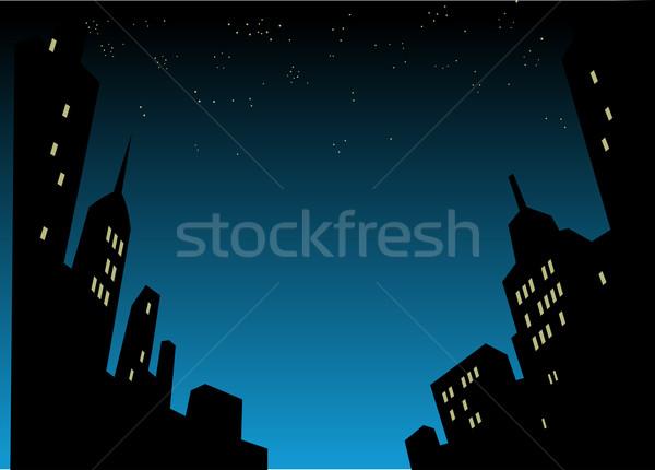 1泊 グラフィック スタイル 漫画 背景 ストックフォト © ClipArtMascots