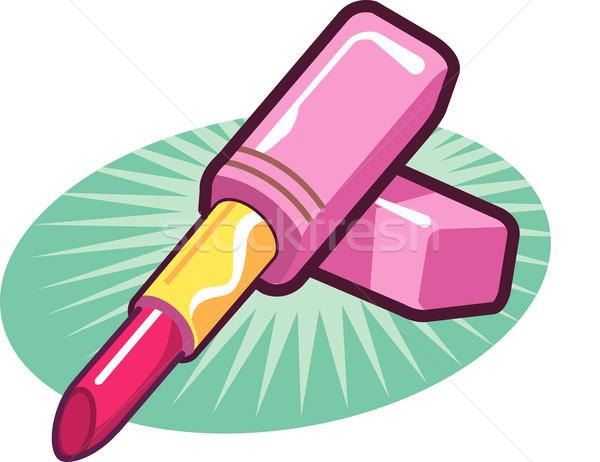 Lipstick Stock photo © ClipArtMascots