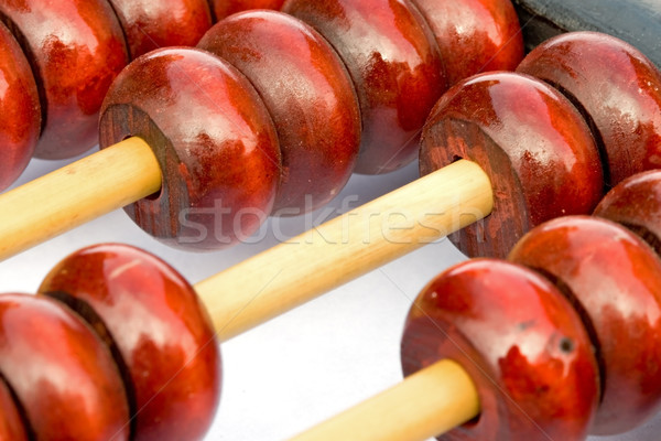 Ancient Chinese Abacus Stock photo © cmcderm1