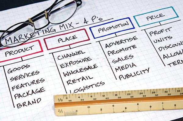 Business Charts Stock photo © cmcderm1