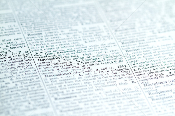 Strateji planları görmek iş kelime Stok fotoğraf © cmcderm1