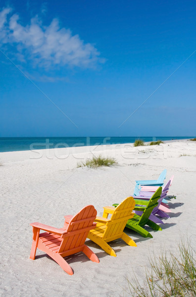 Summer Vacation Beach Stock photo © cmcderm1