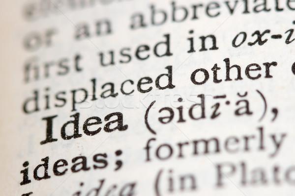 Сток-фото: определение · словарь · мощный · бизнеса · слов · бумаги