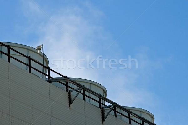 Industrial refinería público espacio Foto stock © cmcderm1