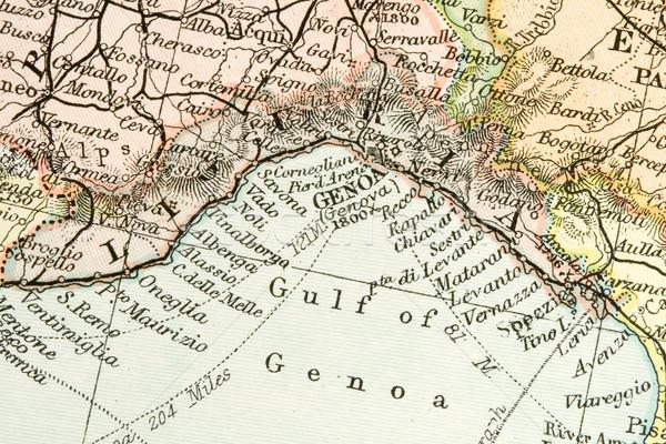Antiguos mapa vintage países comercio Foto stock © cmcderm1