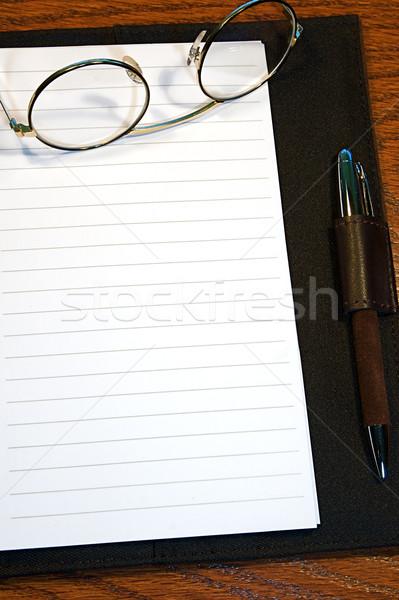 Dergi sayfa günlük hazır metin kâğıt Stok fotoğraf © cmcderm1