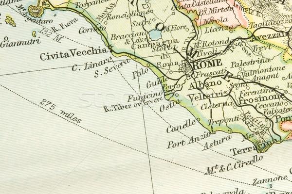 Antique Map Stock photo © cmcderm1