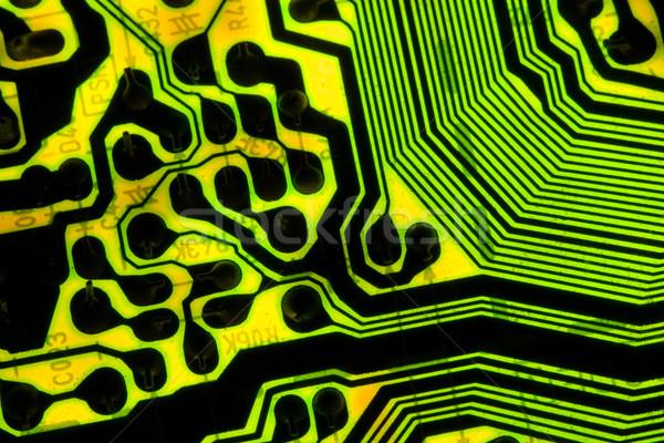 電子 回路基板 線 技術 背景 ストックフォト © cmcderm1