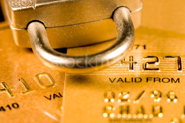 Credit Card Security Stock photo © cmcderm1