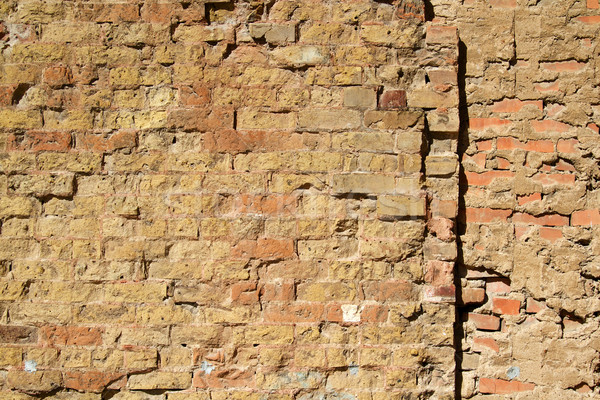 Parede textura velho seção edifício fundo Foto stock © cmcderm1