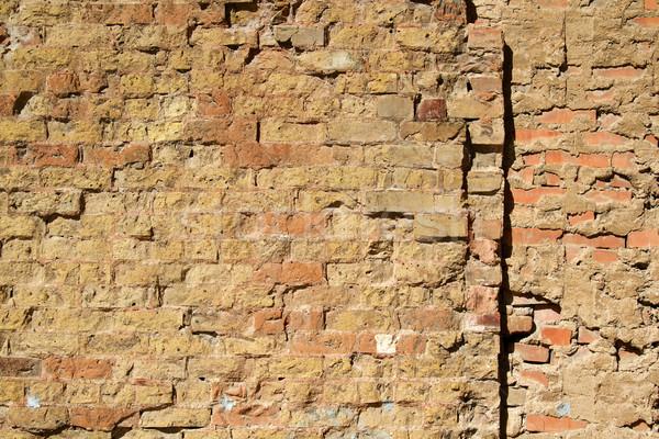 Stockfoto: Muur · textuur · oude · gebouw · achtergrond