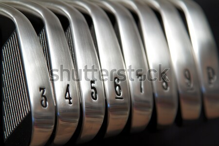 Golf merk nieuwe ingesteld club Stockfoto © cmcderm1