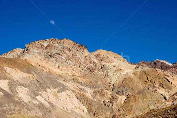 Woestijn bergen drogen dood vallei landschap Stockfoto © cmcderm1
