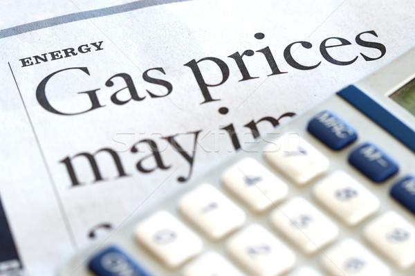 Energy Costs Stock photo © cmcderm1
