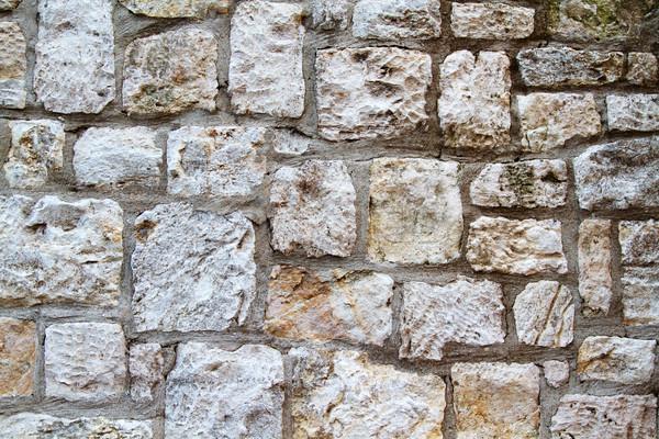 Parede textura velho seção fachada construção Foto stock © cmcderm1